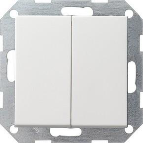 Gira Tast-Serienschalter reinweiß System55 012527