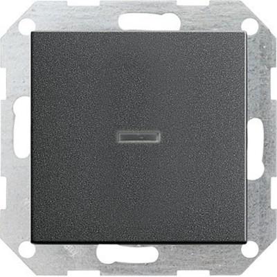 Gira Tast-Kontrollschalter anthrazit System55 013628
