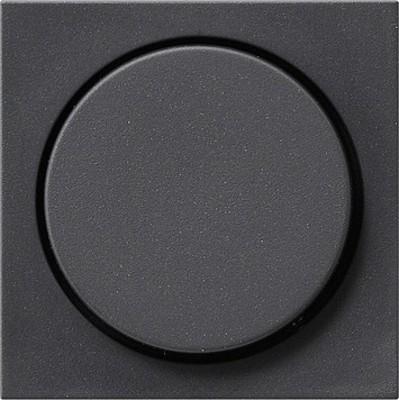 Gira Dimmer-Abdeckung anthrazit System55 065028