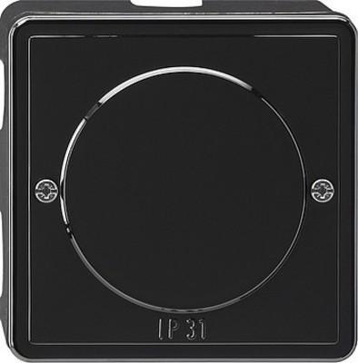 Gira Abzweigdose schwarz S-Color 007047