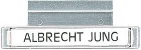 Jung Beschriftungsleiste Schriftfeld 7x57mm 61 NA