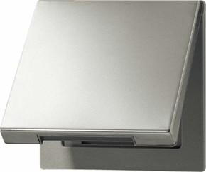 Jung Klappdeckel aluminium mit Rückstellfeder AL 2990 KL
