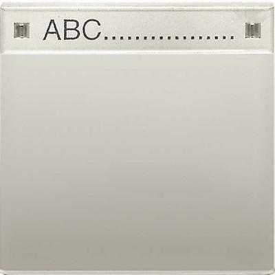 Jung Wippe Schriftfeld aluminium für Wippschalter AL 2990 NA