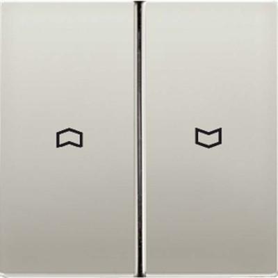 Jung Wippe Symbole aluminium für Taster AL 2995 P