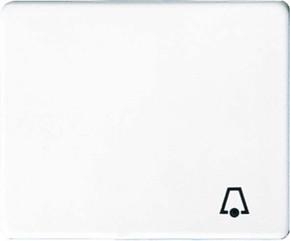 Jung Wippe Symbol KLINGEL alpinweiß für Taster SL 590 K WW
