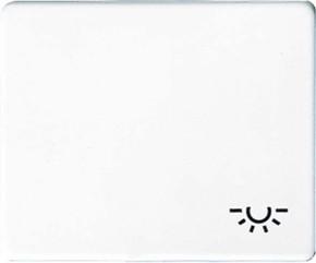 Jung Wippe Symbol LICHT alpinweiß für Taster SL 590 L WW