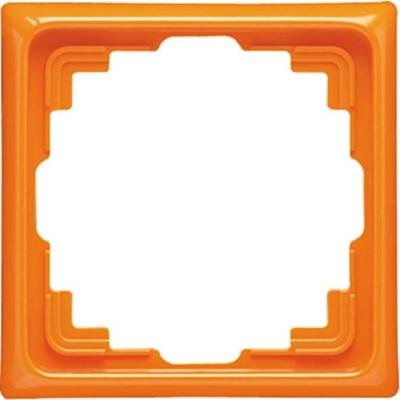 Jung Rahmen 1-fach orange waage/senkrecht CD 581 K O