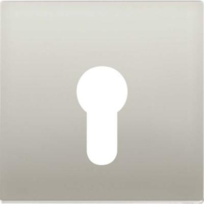 Jung Abdeckung edelstahl für Schlüsselschalt. ES 2925