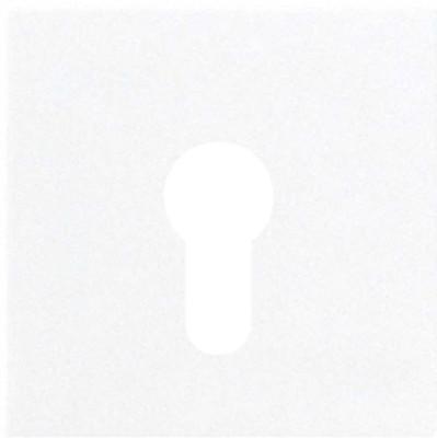 Jung Abdeckung weiß für Schlüsselschalt. LS 925