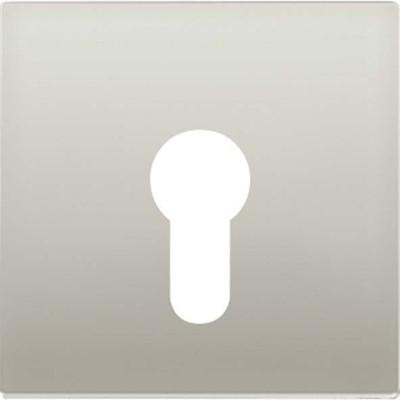 Jung Abdeckung aluminium für Schlüsselschalt. AL 2925