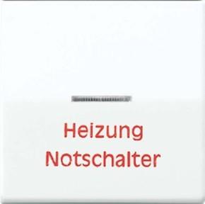 Jung Wippe Aufs.Heizung/Notsch. für beleuchtb.Taster AS 591 H