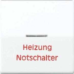 Jung Wippe Aufs.Heizung/Notsch. für beleuchtb.Taster AS 591 H WW