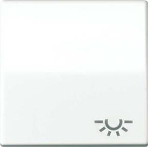 Jung Wippe Symbol LICHT weiß für Taster AS 591 L