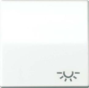Jung Wippe Symbol LICHT alpinweiß für Taster AS 591 L WW