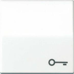 Jung Wippe Symbol TÜR weiß für Taster AS 591 T