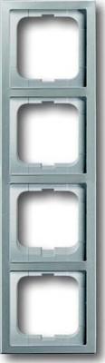 Busch-Jaeger Rahmen 4-fach pur edelstahl 1724-866K
