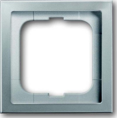 Busch-Jaeger Rahmen 1-fach pur edelstahl 1721-866K