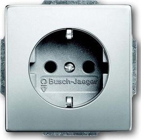 Busch-Jaeger Steckdosen-Einsatz ed m.Steckanschluss 20 EUC-866