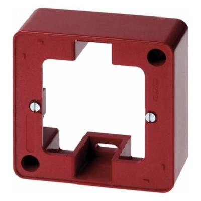 Berker AP-Rahmen 1-fach rot TwinPoint 10290062
