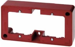 Berker Rahmen 2-fach rot TwinPoint 10300062