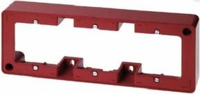 Berker Rahmen 3-fach rot TwinPoint 10310062
