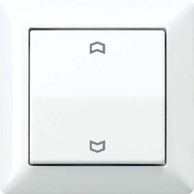 Jung Abdeckung Symbole weiß für Taster AS 590 P