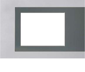 Jung Rahmen aluminium Colour Touch Panel FP AL 781