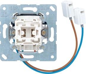 Jung Taster 10AX 250V 1-pol. Wechsler N-K. 533 U-LED W