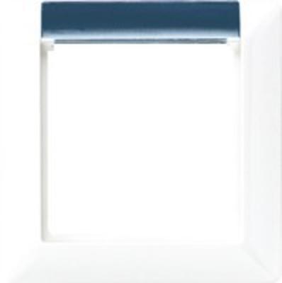 Jung Rahmen 1-fach alpinweiß mit Fenster AS581-1 BFINA WW