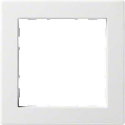 Hager Rahmen 1-f. bril/ws WYR110