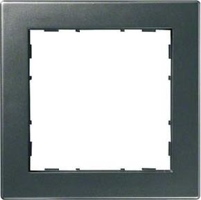 Hager Rahmen 1-f. anthrazit WYR117