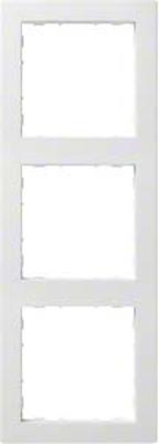Hager Rahmen 3-f. bril/ws WYR130