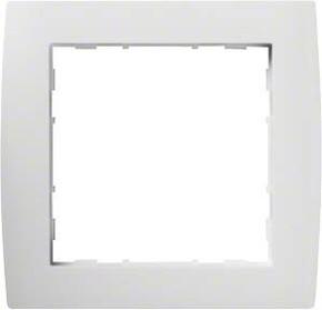 Hager Rahmen 1-f. bril/ws WYR210
