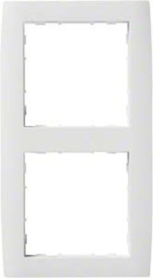Hager Rahmen 2-f. bril/ws WYR220