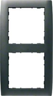 Hager Rahmen 2-f. anthrazit WYR227