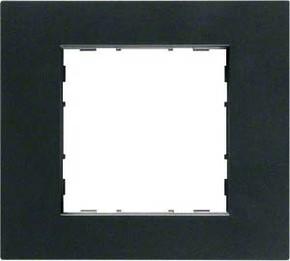 Hager Rahmen 1-f. anthrazit WYR517