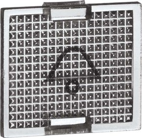 Peha Ersatzsymbol KLINGEL kl tr für Tasterwippen D 655 K