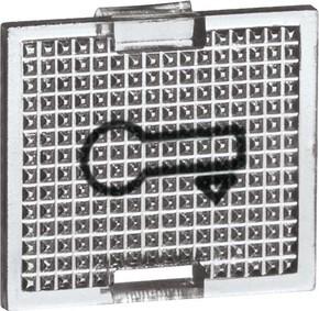 Peha Ersatzsymbol TÜR kl tr für Tasterwippen D 655 T
