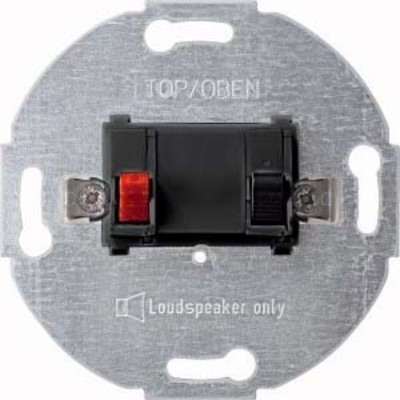 Merten Lautsprecher-Einsatz anthrazit 1-fach 466914