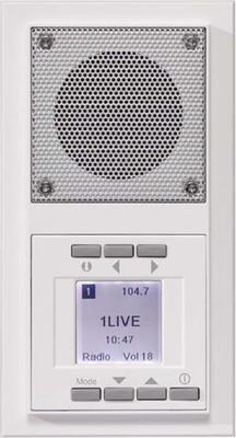 Peha UP-Radio aluminium waage/senkrecht D 20.485.70 RADIO