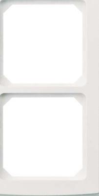 Elso Glasrahmen 2-fach perlweiß 204230