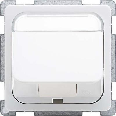 Elso Zentralplatte perlweiß 206870