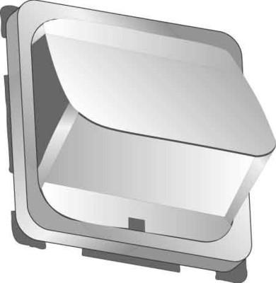 Elso Zentralplatte geschlossen perlweiß 206880