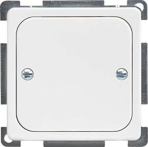 Elso Zentralplatte geschlossen perlweiß 206900