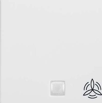 Elso Wippe beleuchtet Lüfter perlweiß 213180