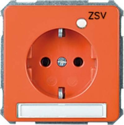 Elso UP-Steckdose ZSV orange 215128