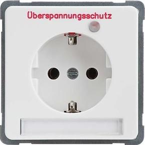 Elso UP-Steckdoseneinsatz rot 215139