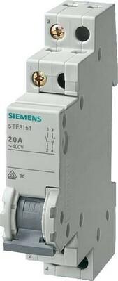 Siemens Indus.Sector Wechselschalter 20A 2S 2Ö 5TE8152