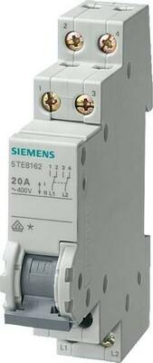 Siemens Indus.Sector Wechselschalter 20A 2W 5TE8162