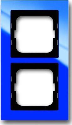 Busch-Jaeger Abdeckrahmen 2 fach blau 1722-288